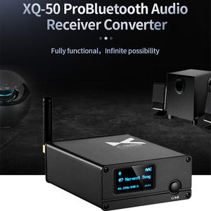 Image 4 - xDuoo XQ 50 Pro/XQ 50 ES9018K2M Buletooth 5.0 Audio Receiver Converter USB DAC support aptX/SBC/AAC Rejuvenate your DAC/AMP XQ50