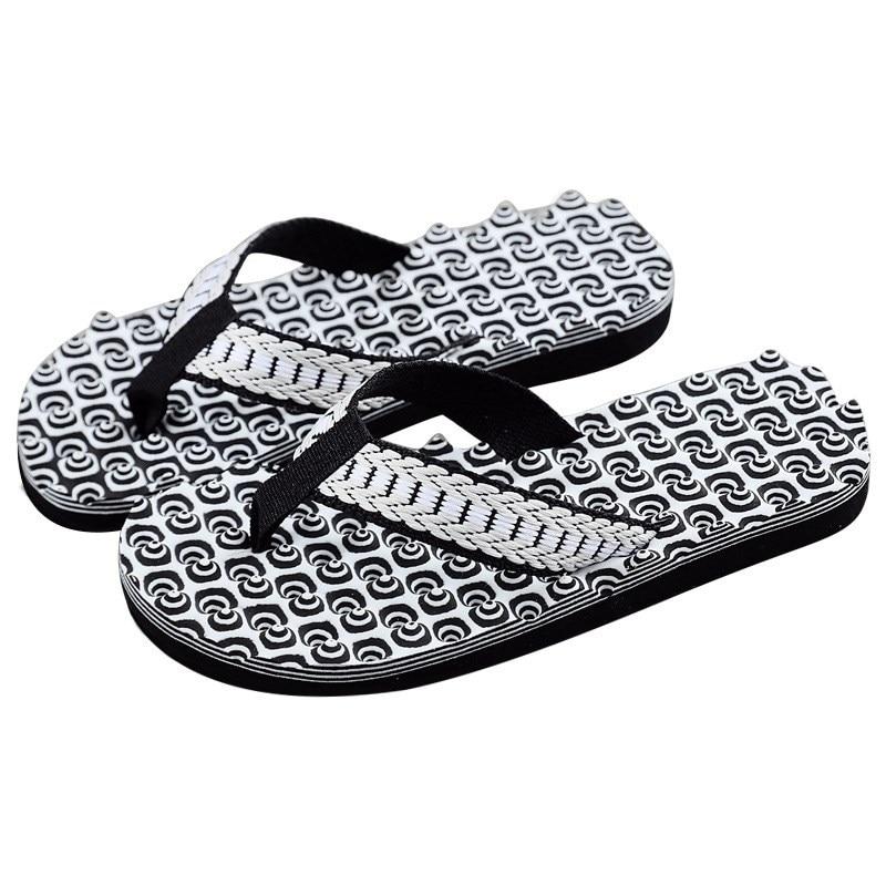New Slippers Men Home Summer Comfortable Massage Flip Flops Shoes Sandals Male Slipper Light Indoor Outdoor Flip-flops