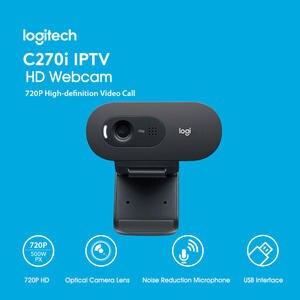 Logitech Webcam Notebook Usb-Camera C270i Computer Free-Drive Desktop Video-Chat Online