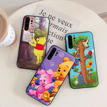 For huawei honor 7X 8X 8C NOTE 10 Winnie bear VIEW 20 7C 5.99IN 8 9 10 lite 7A 9X Pro Silicon Coque Capa(China)