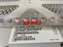 Condensadores de estado sólido me101m, FP-035-35, v100uf, HSR, 8x9