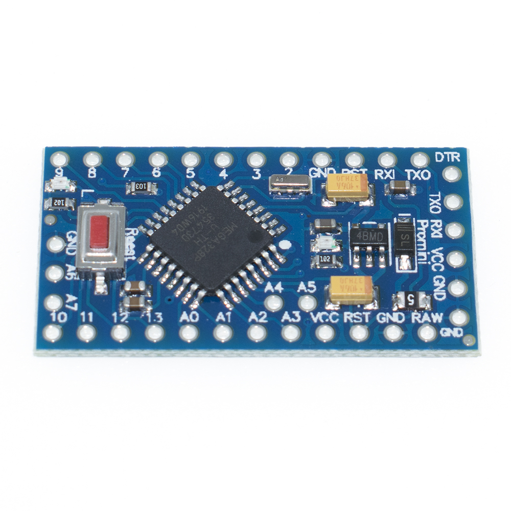 Image 3 - TENSTAR ROBOT 20pcs Pro Mini 328 Mini 3.3V 8M ATMEGA328 3.3V/8MHz 5V/16MHz for arduino-in Integrated Circuits from Electronic Components & Supplies