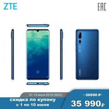 Перейти на Алиэкспресс и купить Смартфон ZTE Axon 10 Pro (6.47дюйм) 19.5:9 2340x1080, 1,4 ГГц+2,0 ГГц+2,5 ГГц, 8 Core, 6GB RAM, 128GB, 48 МП+20 МП+8 МП/20Mpix