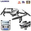 LAUMOX SG907 gps Дрон с камерой 4K HD широкоугольный 5G wifi FPV RC Дрон Квадрокоптер складной Профессиональный Дрон режим следования за мной