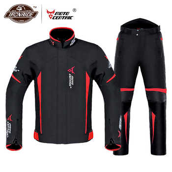 MOTOCENTRIC Waterproof Motorcycle Jacket Winter Riding Jacket Body Armor Protective Gear Motocross Jacket Protection Equipment - DISCOUNT ITEM  45% OFF All Category