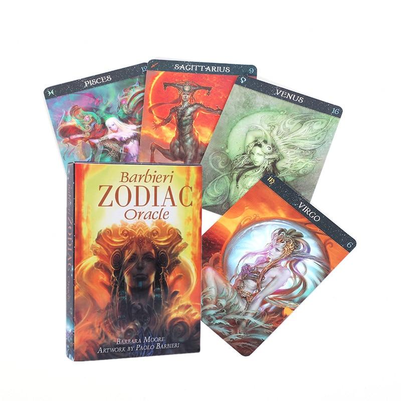 Смешные карты Barbieri Zodiac Oracle, карты Oracle, направляющие, гавайка, настольная игра, игральные карты, настольные игры