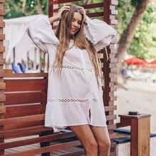 Women's Sundresses Flowy Boho Summer Beach Dress Button Up mesh checkered flowy dress