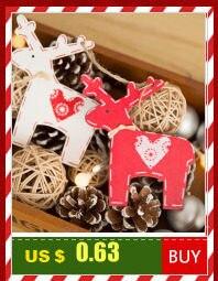 Santa Deer Pattern Christmas Cushion Cover Decorative Throw Pillow 45*45cm Polyester Pillowcase Xmas New Year Home Decor 40543 22
