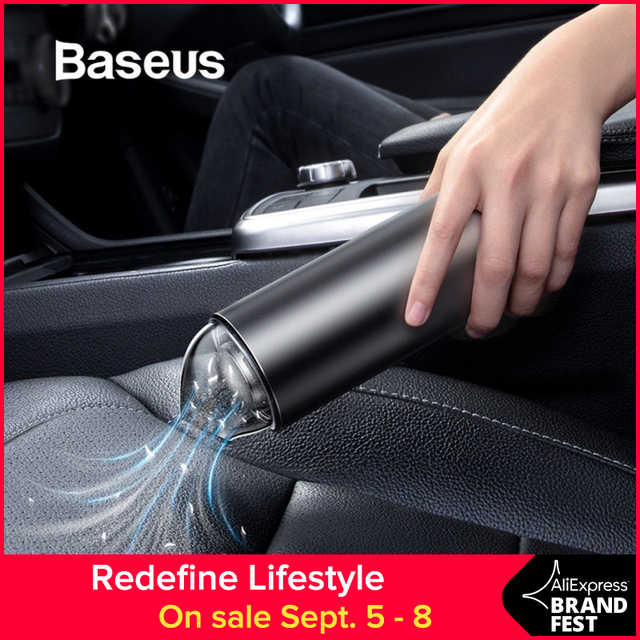 Car Vacuum Cleaner Portable Wireless Handheld Auto Vacuum Cleaner Robot for Car Interior & Home & Computer Cleaning
