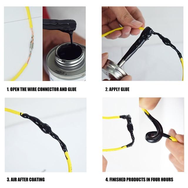 Купить жидкая электрическая лента черная/серая 1 унция изоляционная картинки цена