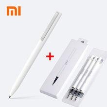 Xiaomi canetas originais sign 9.5mm, canetas de assinatura premec, recarga suave suíça, tinta extra mikuni japão, canetas mijia azul preta recarga de refil