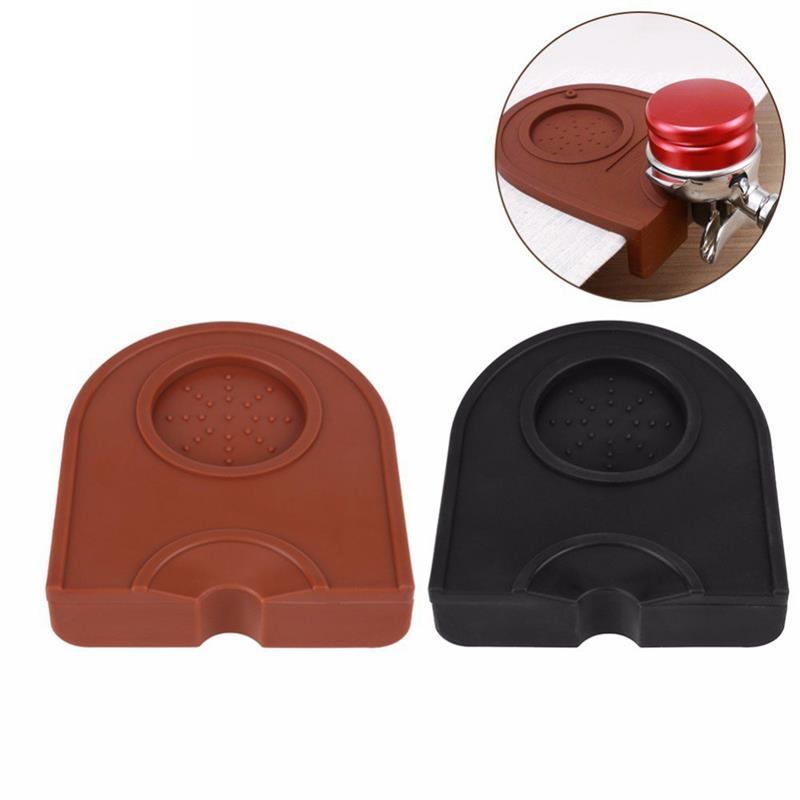 Coffee Tool Coffee Tamper Portable Heavy Duty Wood Handle Espresso Tamper Coffee Bean Press Coffee Pad & Cleaning Brush & Cup