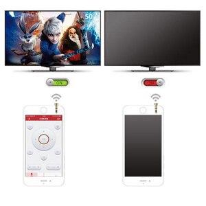 Fiche anti-poussière pour climatiseur TV DVD Mini génération Smart IR télécommande pour Apple pour appareils IOS Multi couleurs prise poudre