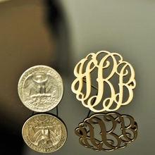Персонализированная Бохо на заказ монограмма брошь в форме буквы