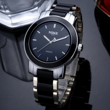 MIKE Quartz Watch Men Ceramic Watches Top Luxury