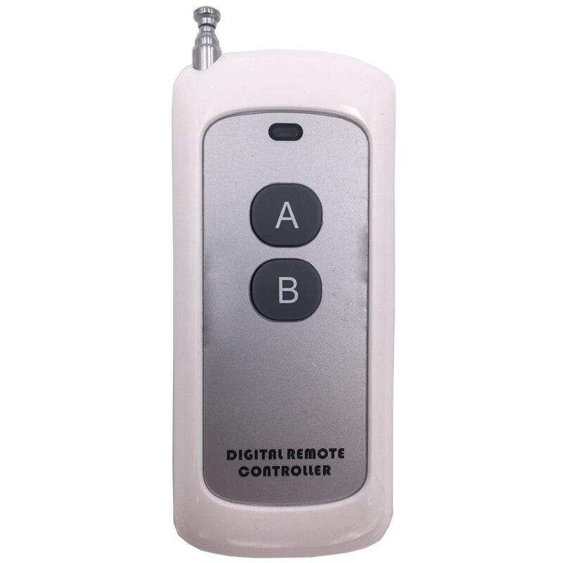 РЧ-переключатель для дистанционного управления, 433 МГц, 220 В перем. Тока, 30 А, 1CH, релейный приемник, 500 м, Дальний диапазон управления, светильник/светодиодный/передача сигнала/вентилятор