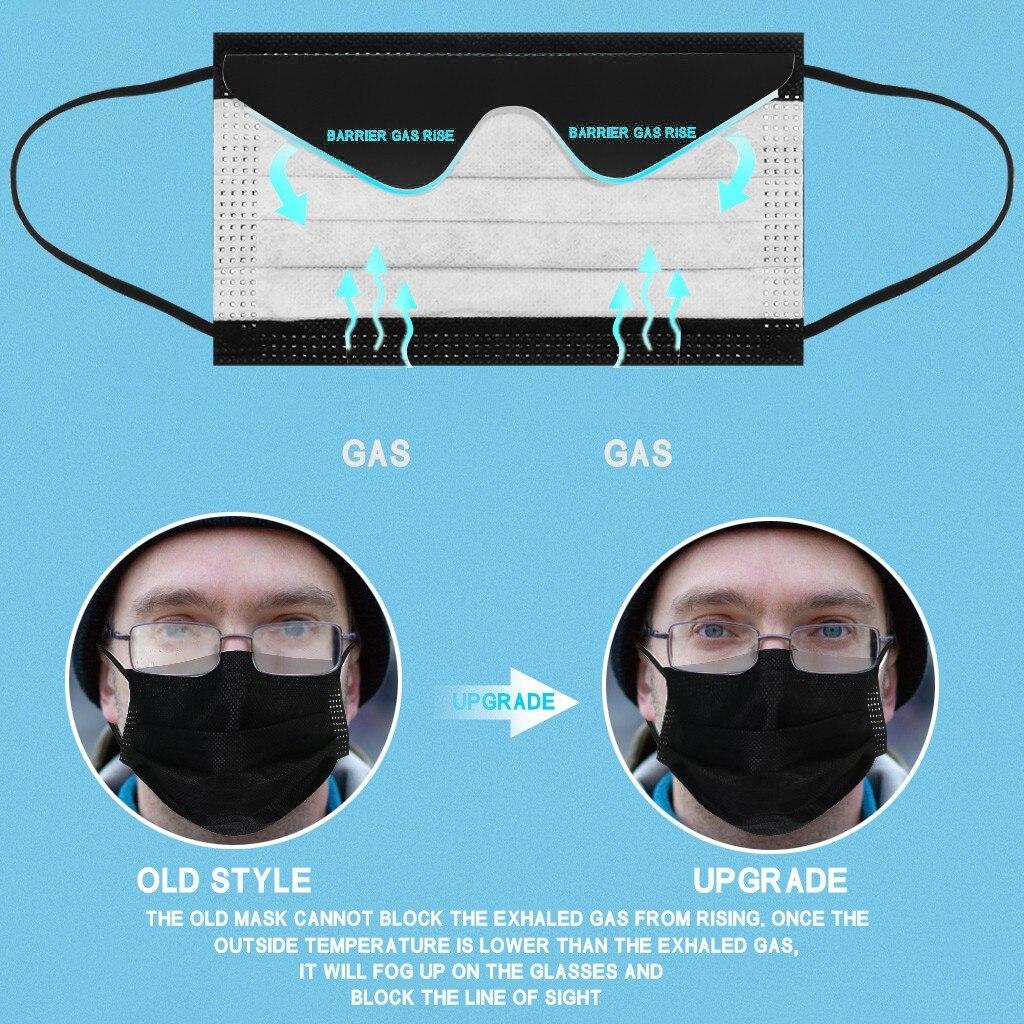 50 шт Анти-Туман Маска предназначены для одноразового использования очки 3 Слои слоев фильтр маска для губ маска для лица фильтр Безопасный Д...