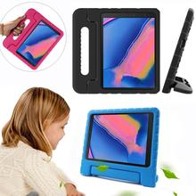 цена на Tablet Case For Samsung Galaxy Tab A 8.4 2020/Tab A4S/Tab T307U Case EVA Shockproof Portable Handle Protective Stand Cover