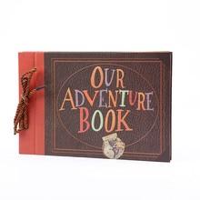 Diy Handmade Photo Album Decor Anniversary Wedding Feast Adventure Books 40 Pages