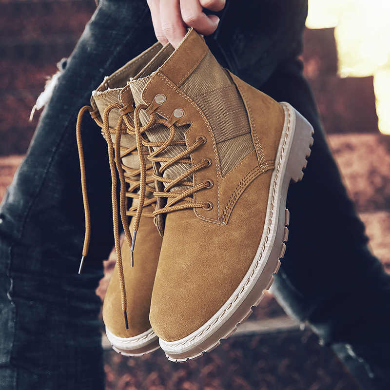 ผู้ชายยุทธวิธียุทธวิธีทหารรองเท้าบุรุษทำงานรองเท้าเพื่อความปลอดภัย Army Combat Boots Militares Tacticos Zapatos รองเท้าผู้ชายรองเท้า Feamle