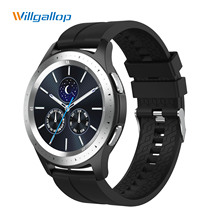 Willgallop W68 Bluetooth Call Smart Watch Full Touch WristBand IP67 Men and Women Fitness Tracker Bracelet Heart Rate Monitor цена 2017