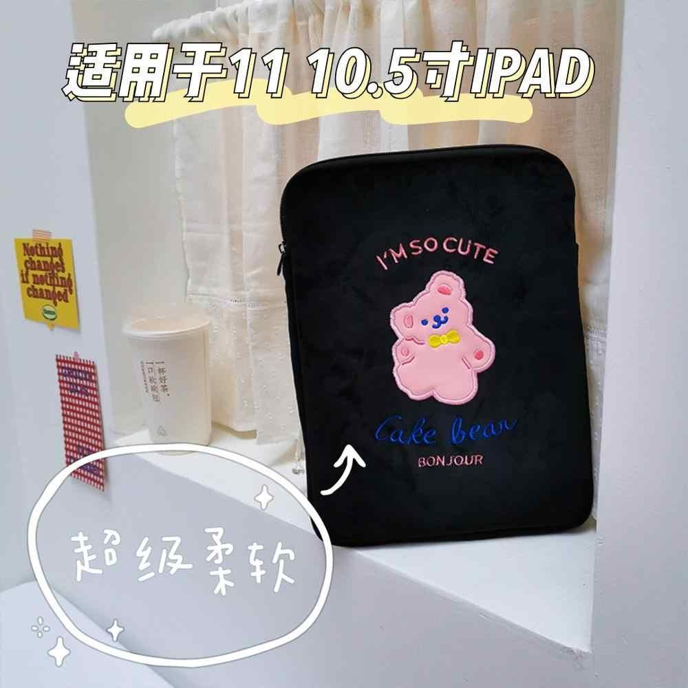"Para funda ipad 10.2 bolsa feminina 10.5 tablet manga caso para ipad mini 5 2 3 4 7.9 ""capa 9.7 polegadas tablet forro manga bolsa sacos"