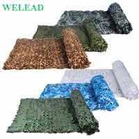 WELEAD 3x3M renforcé Camouflage filets militaire blanc bleu noir désert Jungle sable 3*3 3x3 3*3M pour jardin ombre maille auvent