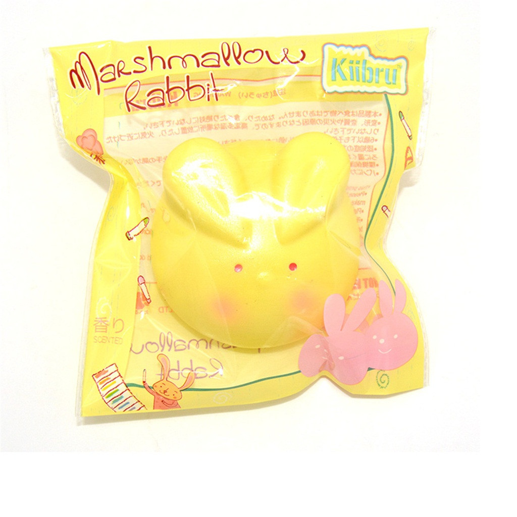 Squishy Kawaii Gigantes Soft Squeeze Toys Squishy Squishies Spun Sugar Bunny Scented Slow Rising Squeeze CollectW801