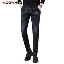 Streetwear Jeans Male Trousers MOOWNUC Autumn Pants Classic Mens Jeans Skinny Denim Jeans For Men Slim Designer Casual Straight brand jeans men new arrivals vintage pants men s raw denim jeans warm slim male casual straight designer trousers