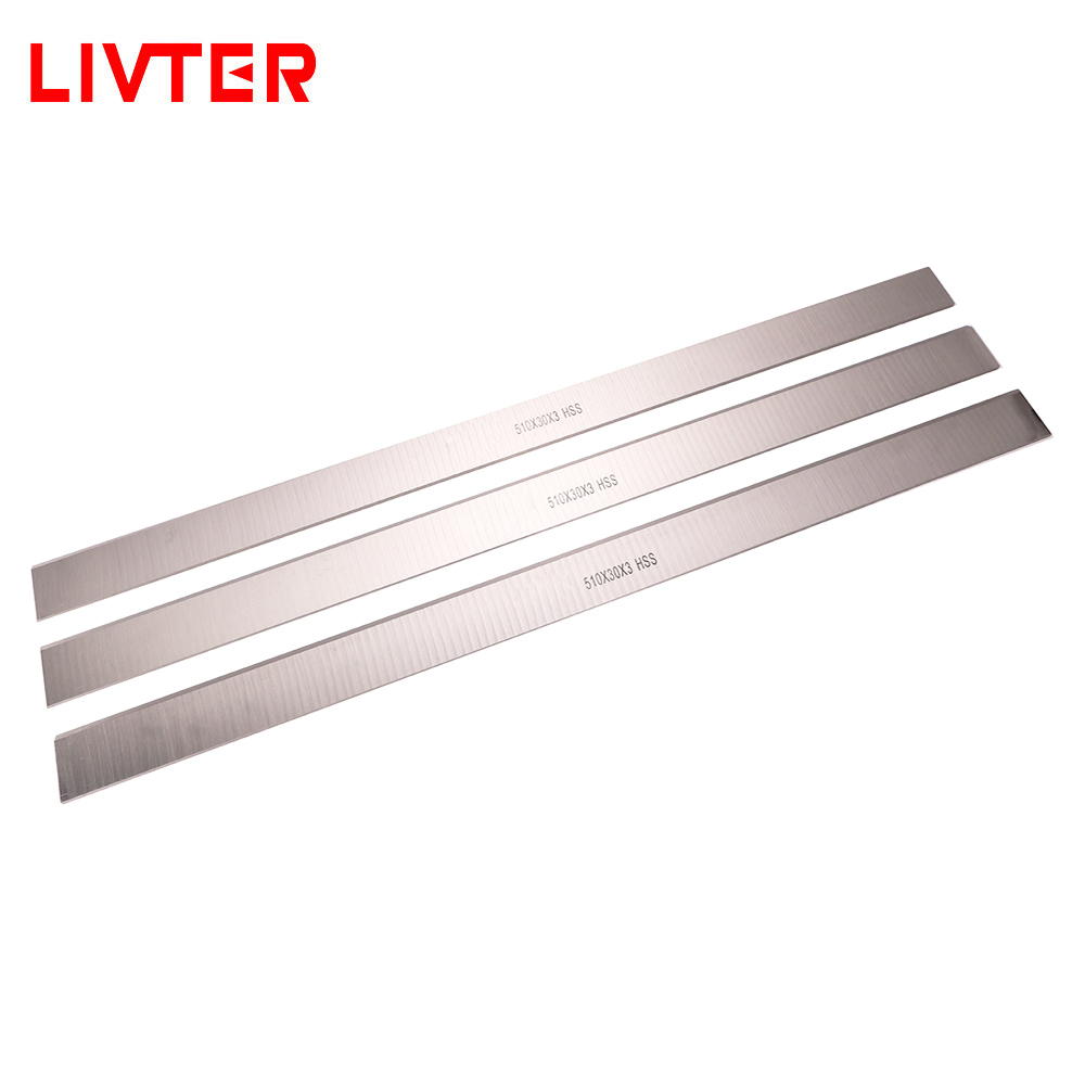 LIVTER M2 HSS Wood Planer Blade Woodworking Knife Woodworking Planer For Thickness Planer