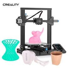 Creality 3d ender 3 v2 impressora 3d kit diy impressora 3d all-metal estrutura integrada mainboard atualização ender 3 pro impresora 3d