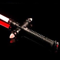 LGTOY Light Saber Heavy Dueling LED Lightsaber With FOC Metal Hilt Blaster Sound Force FX Children Gift