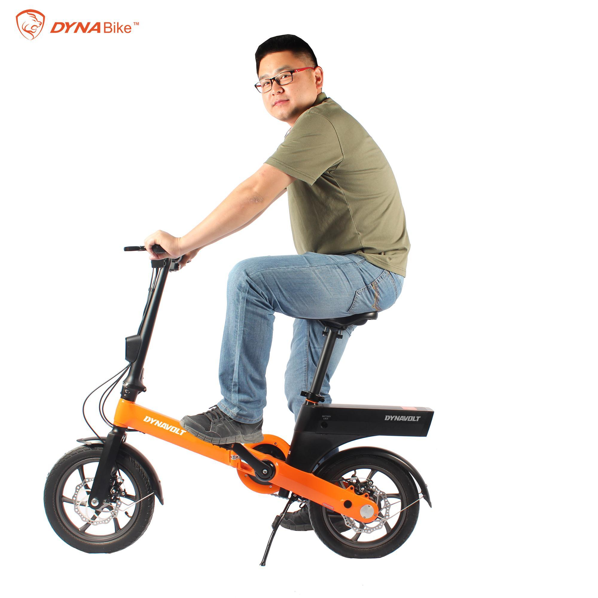 D6 folding bikeChina factory 12inch new design foldable electric bike 4