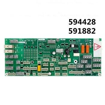 1pcs Schindler Elevator 5400 elevator car top electronic printed board ID.NR.591882 car top power board  AQ1H547 elevator display board km853300g13 853303h03
