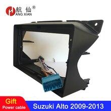 HANGXIAN 2 Din Car Radio Fascia frame for Suzuki Alto 2009-2