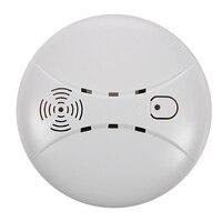 Detector de fumaça de incêndio sem fio wifi gsm sensor de alarme de fumaça de segurança em casa|Detector de fumaça| |  -