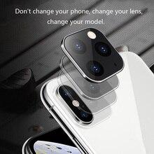 1/2 шт. для iPhone Apple iPhone X XS MAX секунд изменение для 11Pro для iPhone 11 PRO MAX наклейка на рассеиватель изменение Камера Защитная крышка