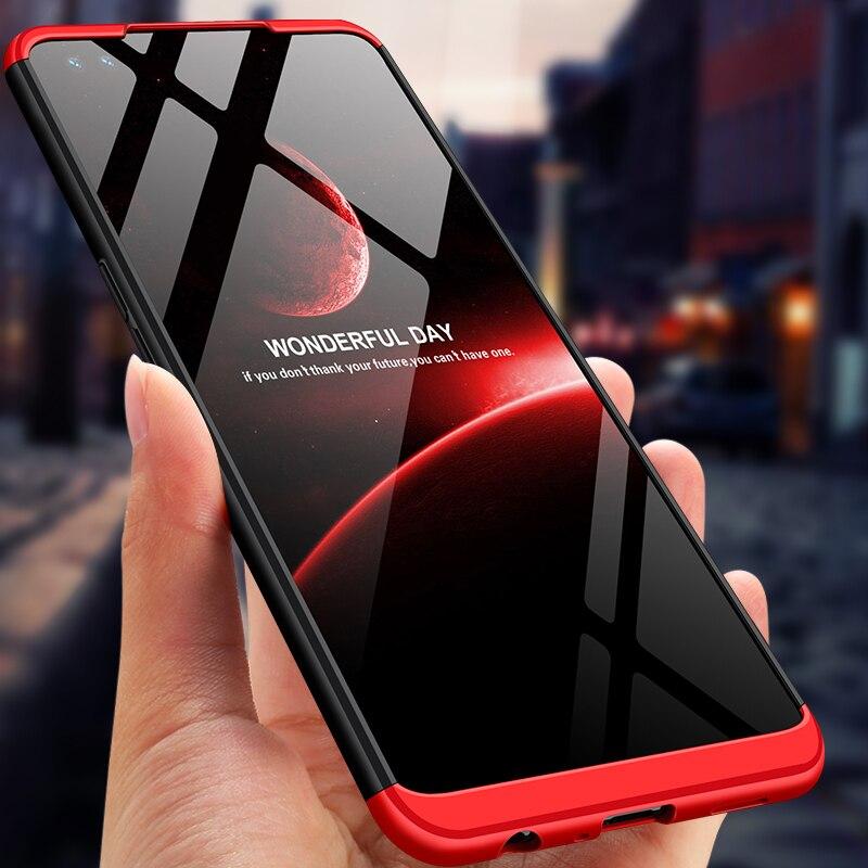Высококачественный защитный чехол для OPPO Рено 4Z чехол для телефона 360 полная защита 3 в 1 матовый жесткий Пластик задняя крышка чехол для OPPO Р...