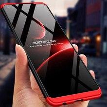 Para oppo reno 4z caso de telefone 360 proteção completa 3 em 1 fosco plástico duro volta caso para oppo reno4 z 5g coques