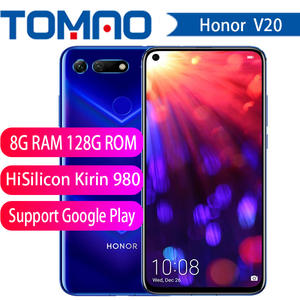 Honor Hisilicon Kirin 980 V20 View 20-Link-Turbo Smartphone 128gb 6gb WCDMA/CDMA2000/CDMA/..