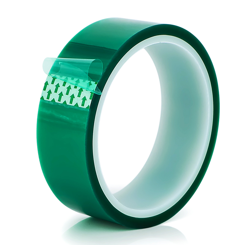 108ft Green Pet Tape Powder Coating Masking Insulation Grip for PCB Solder Plating Insulation Protection
