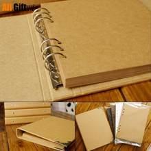 Osłona albumu z luźnymi liśćmi zwięzły papier pakowy pamiętnik ręcznie malowany Graffiti zdjęcie z pamiętnika Album dla kochanka ślub dla dzieci 40 stron
