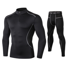 Fanceey High Collar Winter Thermo Underwear Thermal Men Long Johns