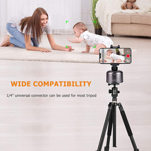 360º Rotation Smart Selfie Stick Auto Face Object Tracking For Smart Phone Shooting Camera Tripod Holder Mount For Video Record