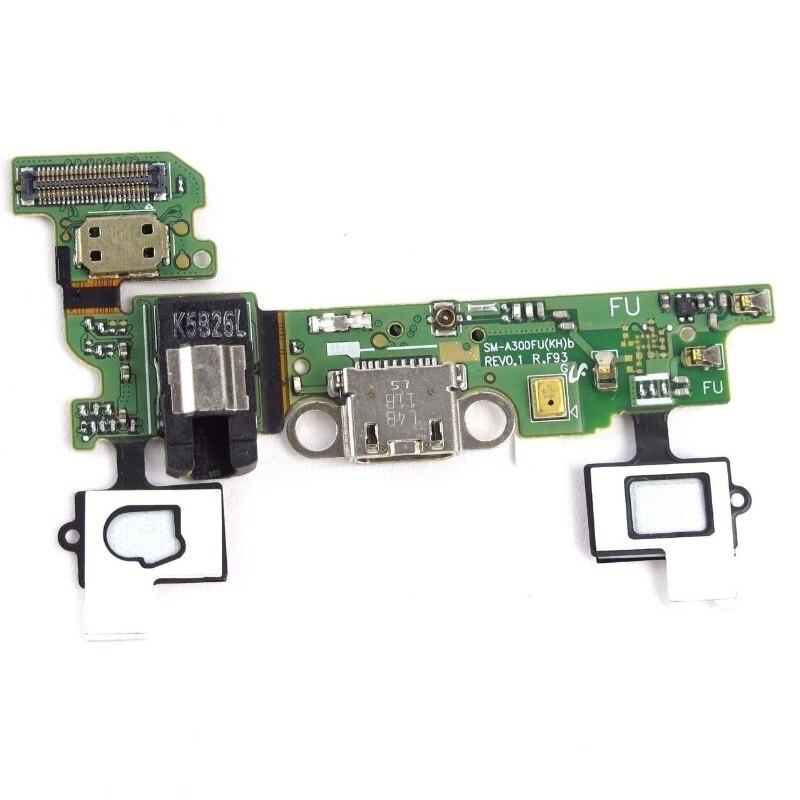 For Samsung Galaxy A3 SM-A300F A300M A300FU A300H A3000 Charge Charging Port Connector Socket Flex Cable