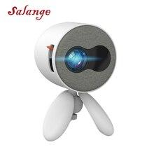 Salange мини-проектор YG220, 480*272 пикселей поддерживает 1080P HDMI USB 3,5 мм аудио мини-проектор домашний медиаплеер детский подарок