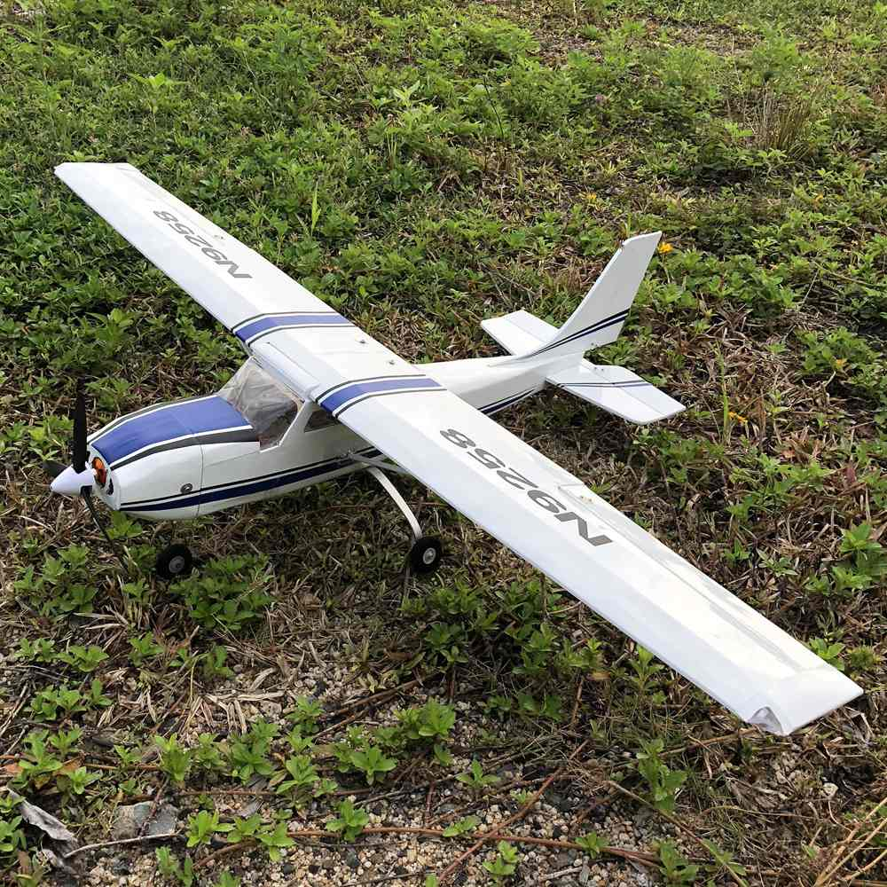 KIT Only DIY Electric 4 Channel Remote Control RC Plane Drone Flying Aircraft for Adults Outdoors Easy to Fly Cessna RC Foam Plane Kit 960mm Wingspan EPP Airplane Fixed Wing Helicopter