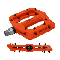 MTB Bike Pedal Nylon 3 Bearing Composite 9/16 Mountain Bike Pedals High Strength Non Slip Bicycle Pedals Surface for Road BMX MT|Bicycle Pedal| |  -
