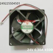 Original new 100% YTD249225S04501 9.2CM 24V 0.30A 4500RPM