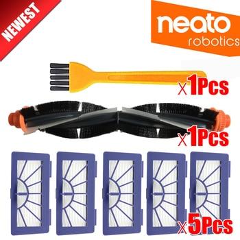 3 компл. Кисточки + 1 шт. Пластик Bump Газа комплект для IROBOT Roomba 800 серии 900 870 880 980 Пылесосы для автомобиля робот Запчасти без Фильтр HEPA